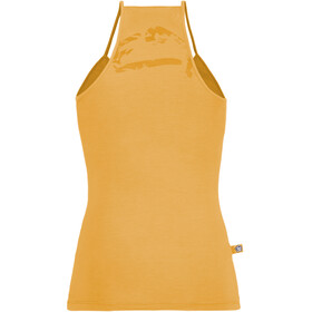 E9 Titti Tank Top Integrated Bra Dam sunflower